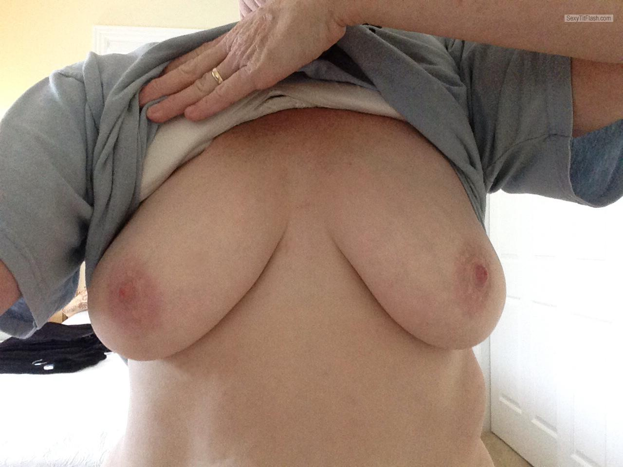 My Medium Tits Selfie by Easy Dee