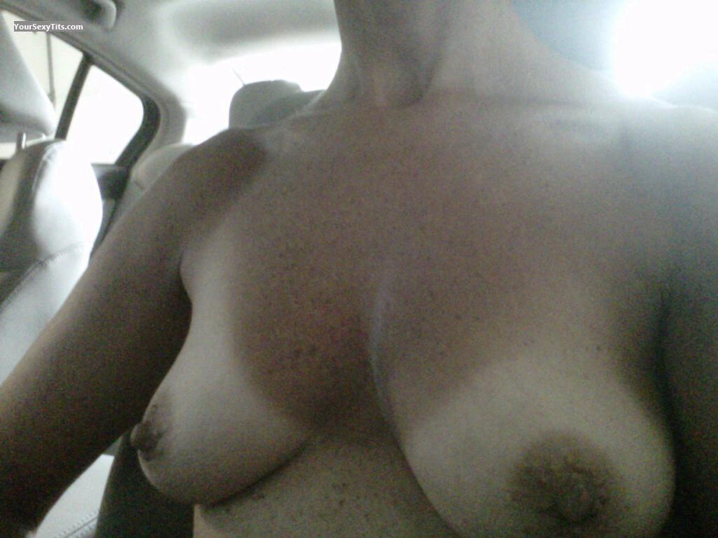 Medium Tits Of My Girlfriend Selfie by Sweet B