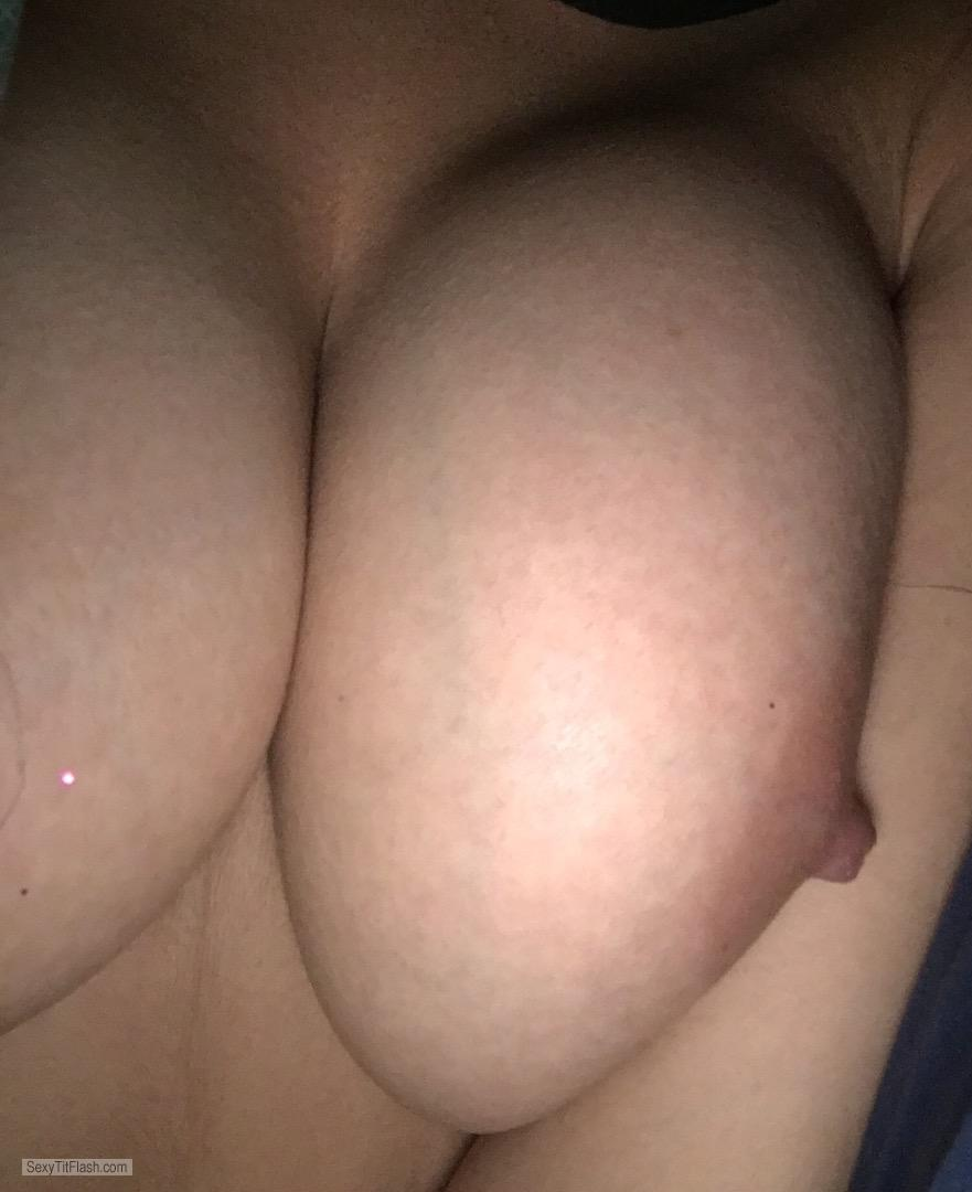 My Medium Tits Selfie by BiGTitty