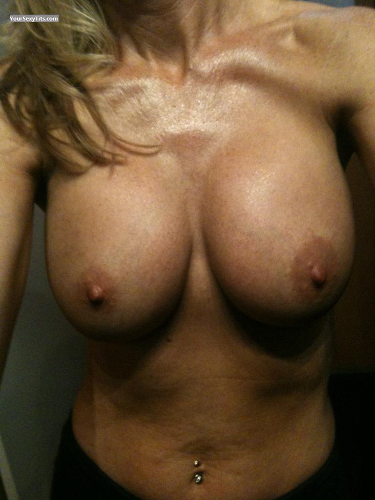 Tit Flash: My Medium Tits (Selfie) - Milfnurse from United States
