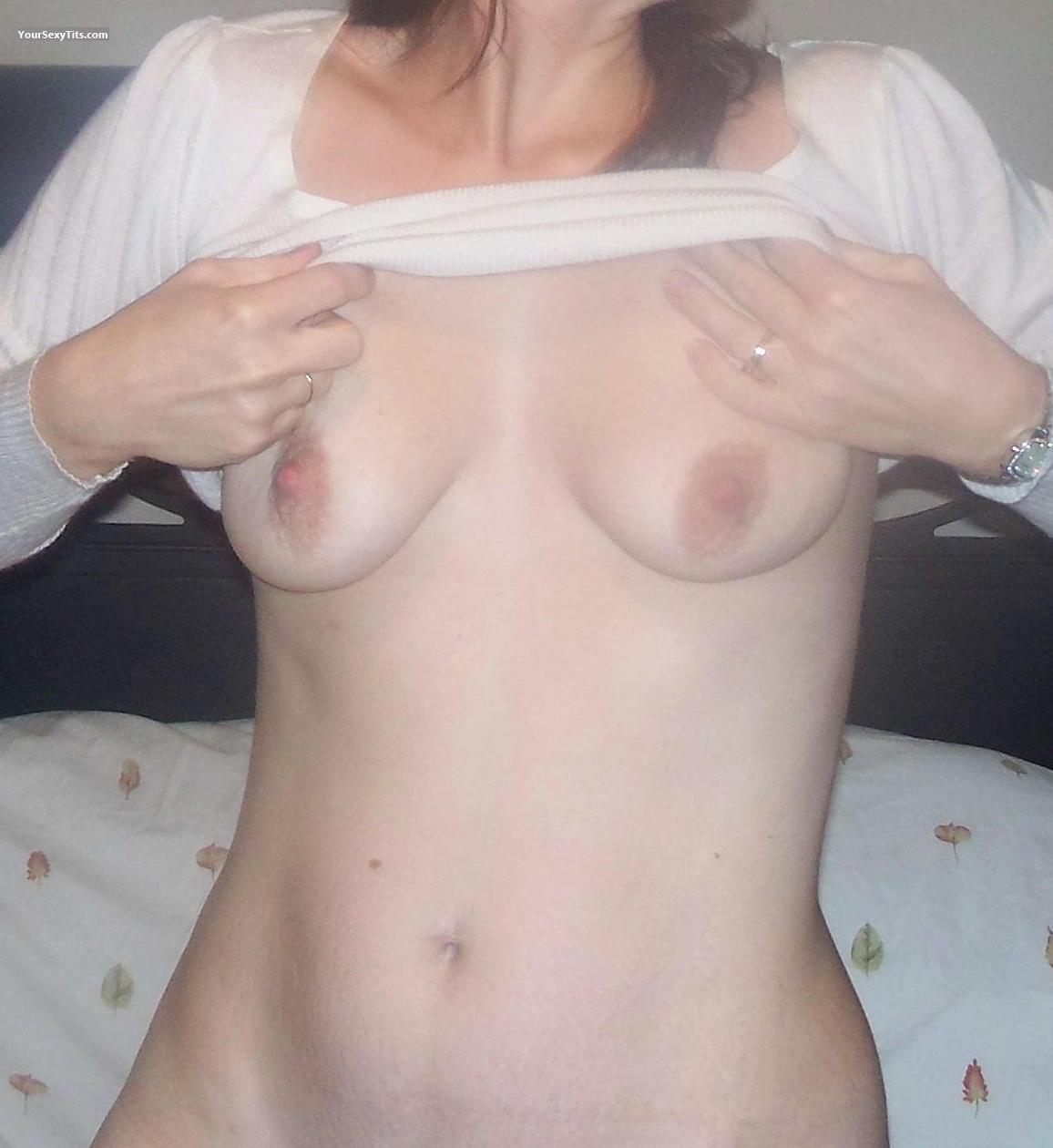 Tit Flash: Medium Tits - Fisky Kitty from United States