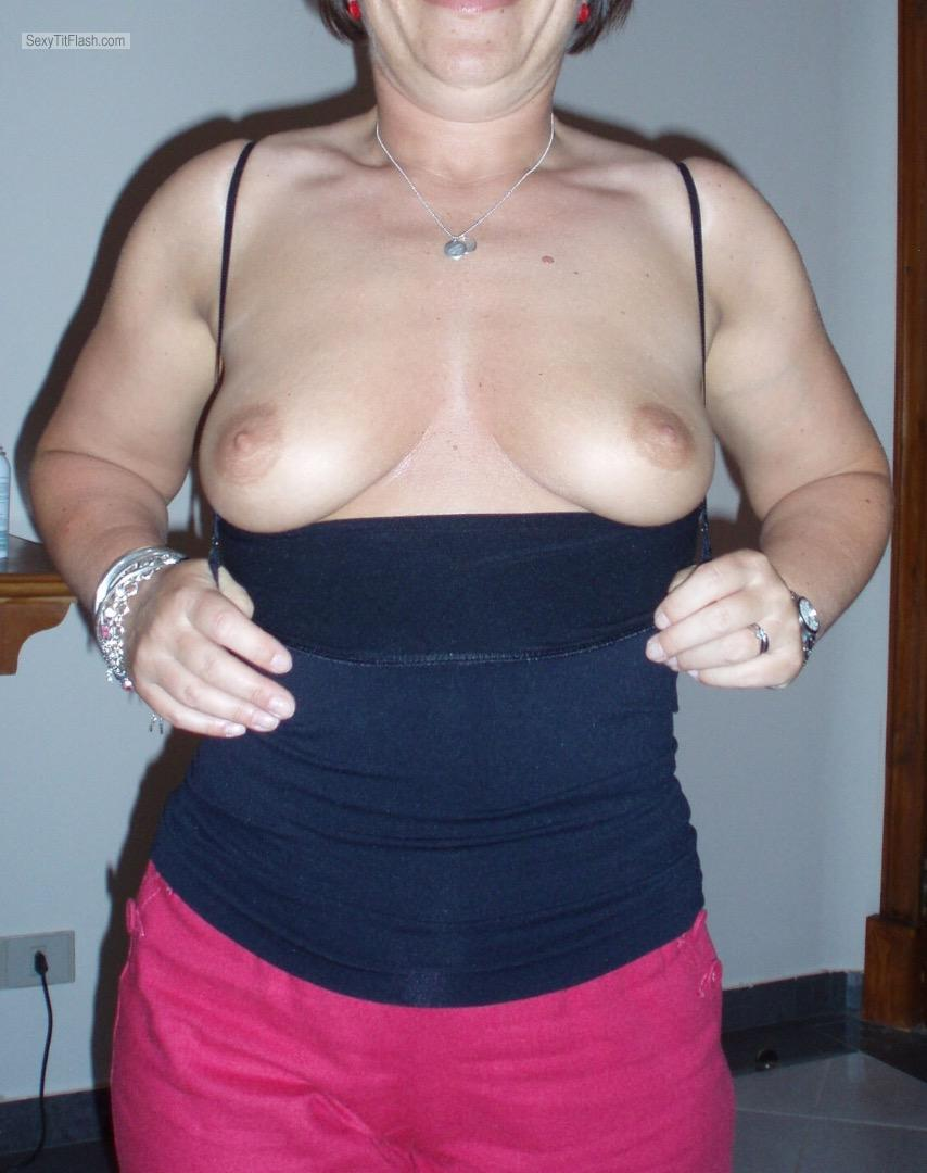 Tit Flash: My Small Tits - Pjp0rn from United Kingdom