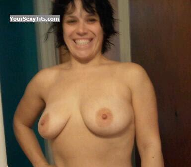 Tit Flash: Medium Tits - Topless Sexy Shawty from United States