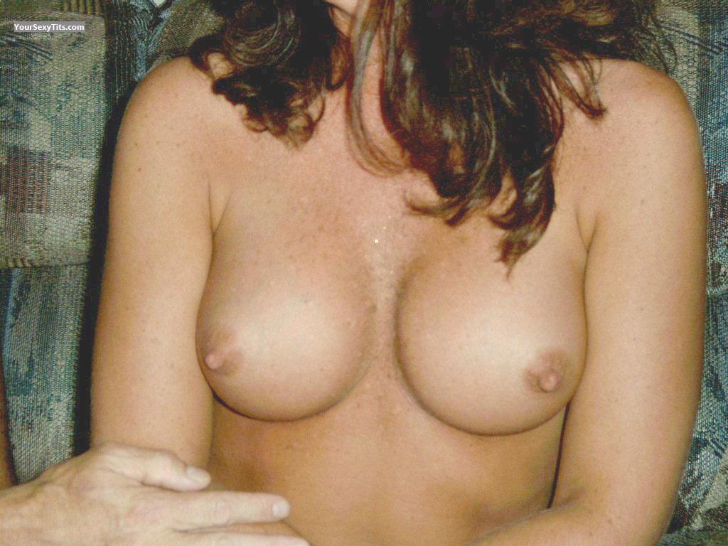 Tit Flash: Medium Tits - Tits from United States
