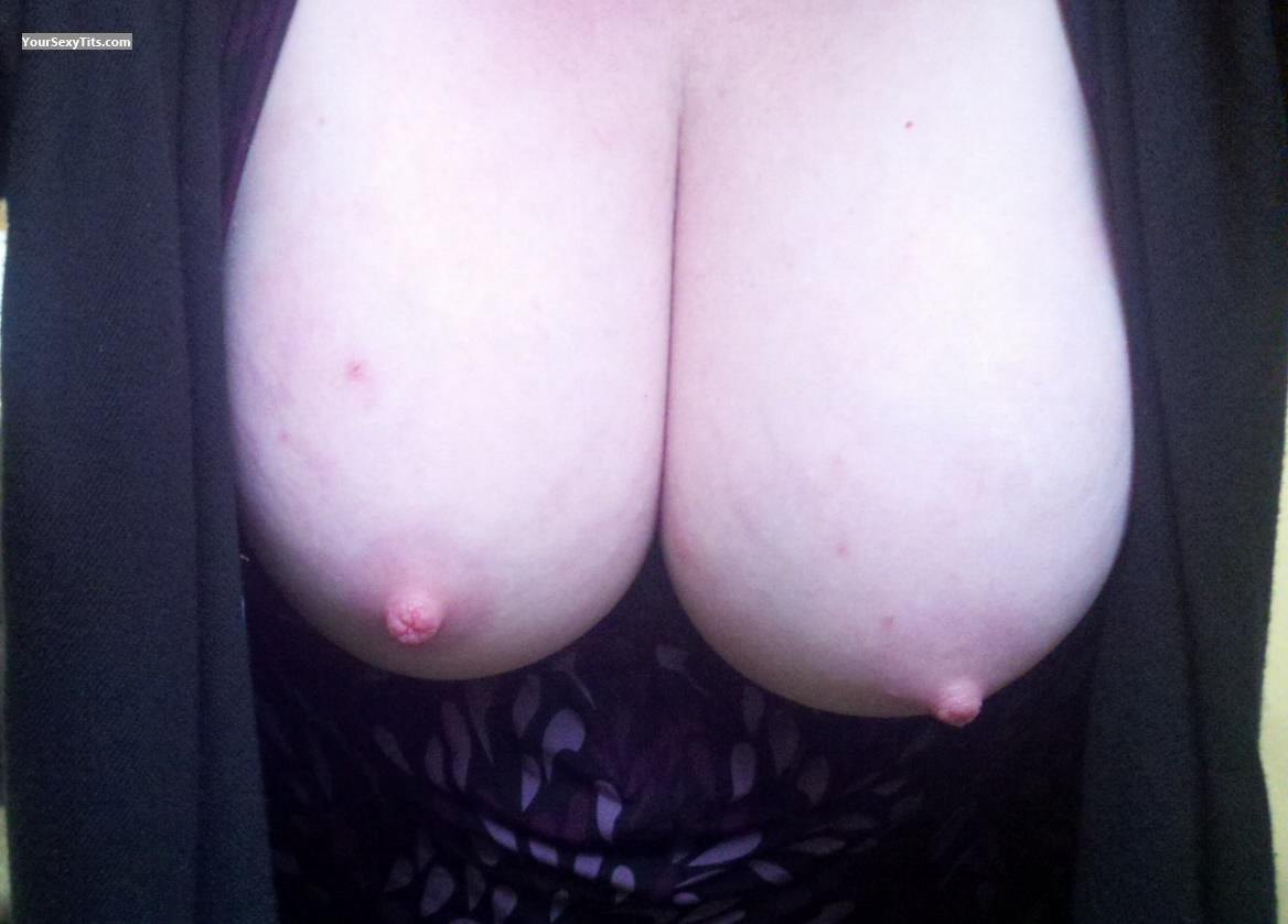 Tit Flash: My Medium Tits (Selfie) - Idareyou from United States