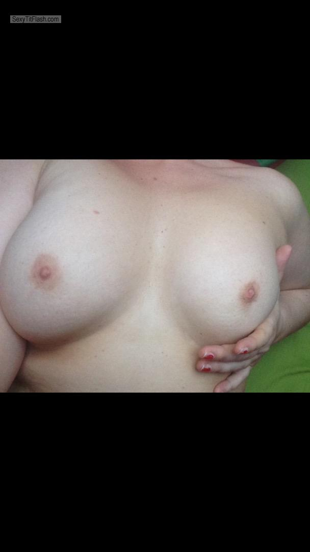 My Medium Tits Selfie by Mrs Pepper