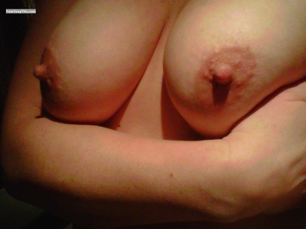 Tit Flash: Medium Tits - Hot Slut from United States