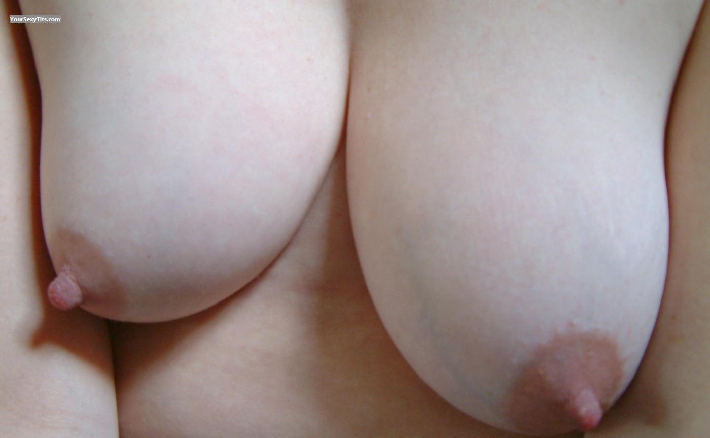 Tit Flash: My Medium Tits (Selfie) - Jamstar from United Kingdom