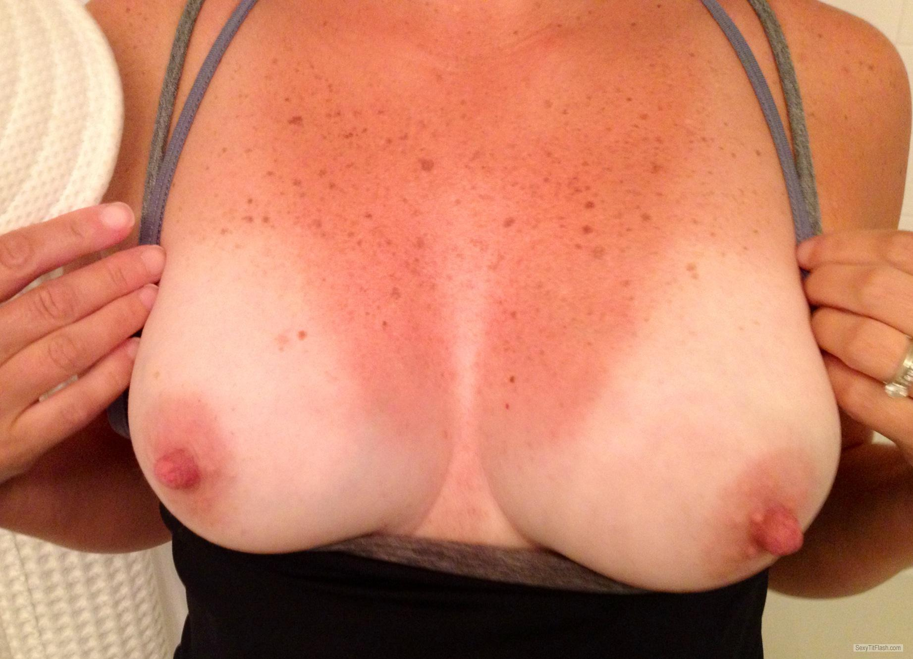 Medium Tits Of My Wife Horny Agnes