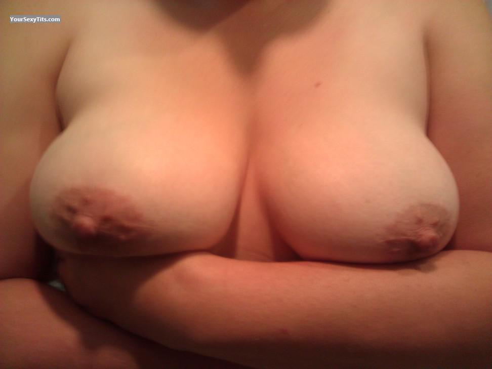 Tit Flash: Medium Tits - VeryShyWife from United States