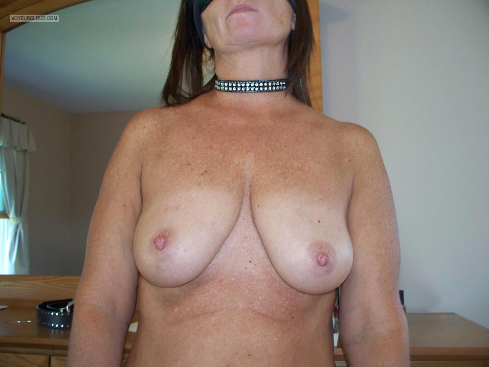 Tit Flash: My Medium Tits - Lady Purple from United States