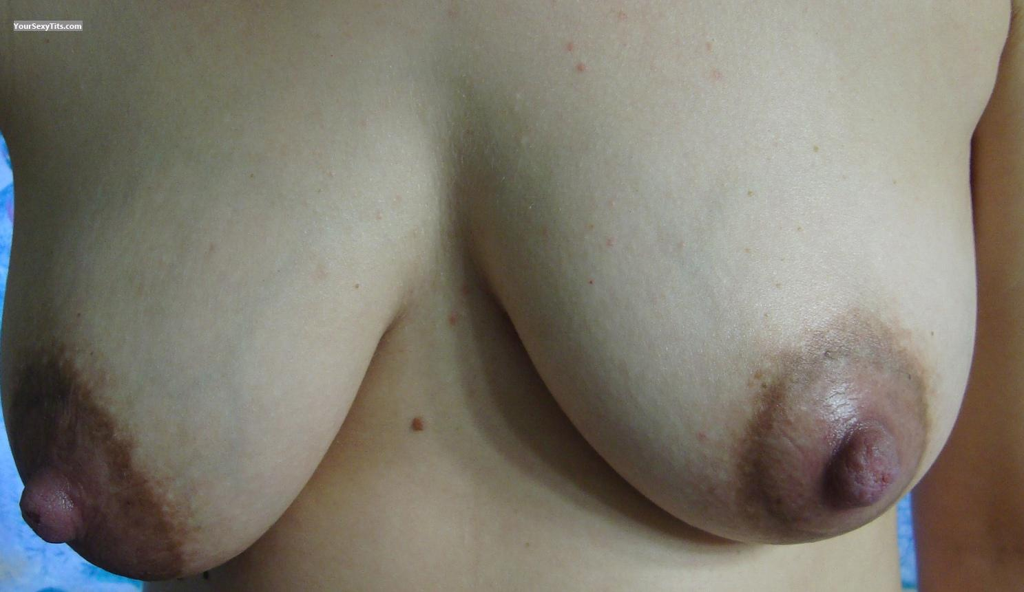 Medium Tits Of My Wife Selfie by Pcuser69