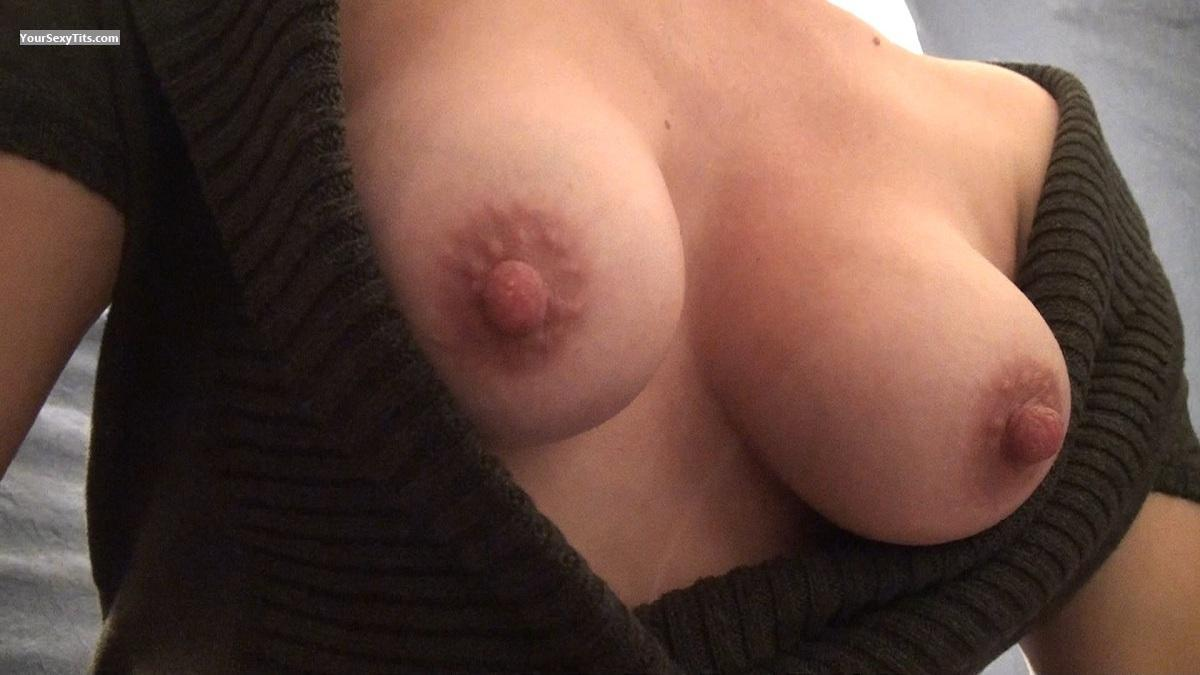 Tit Flash: Medium Tits - HottieKat from United States