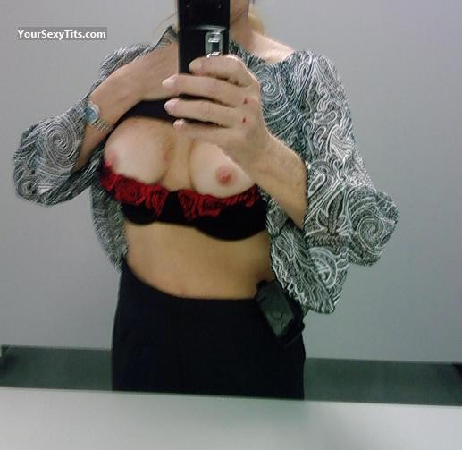 Tit Flash: My Medium Tits (Selfie) - Crazy SG from United States