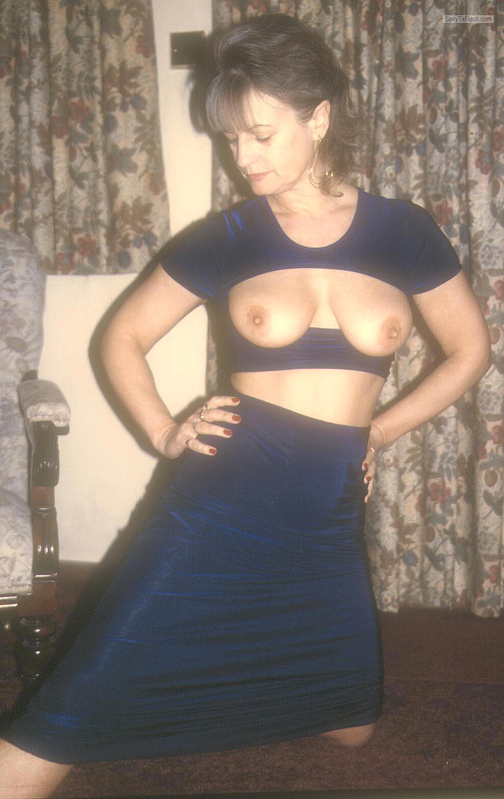 My Medium Tits Topless Yvonne
