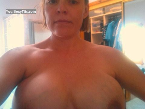 My Medium Tits Topless Selfie by Jan