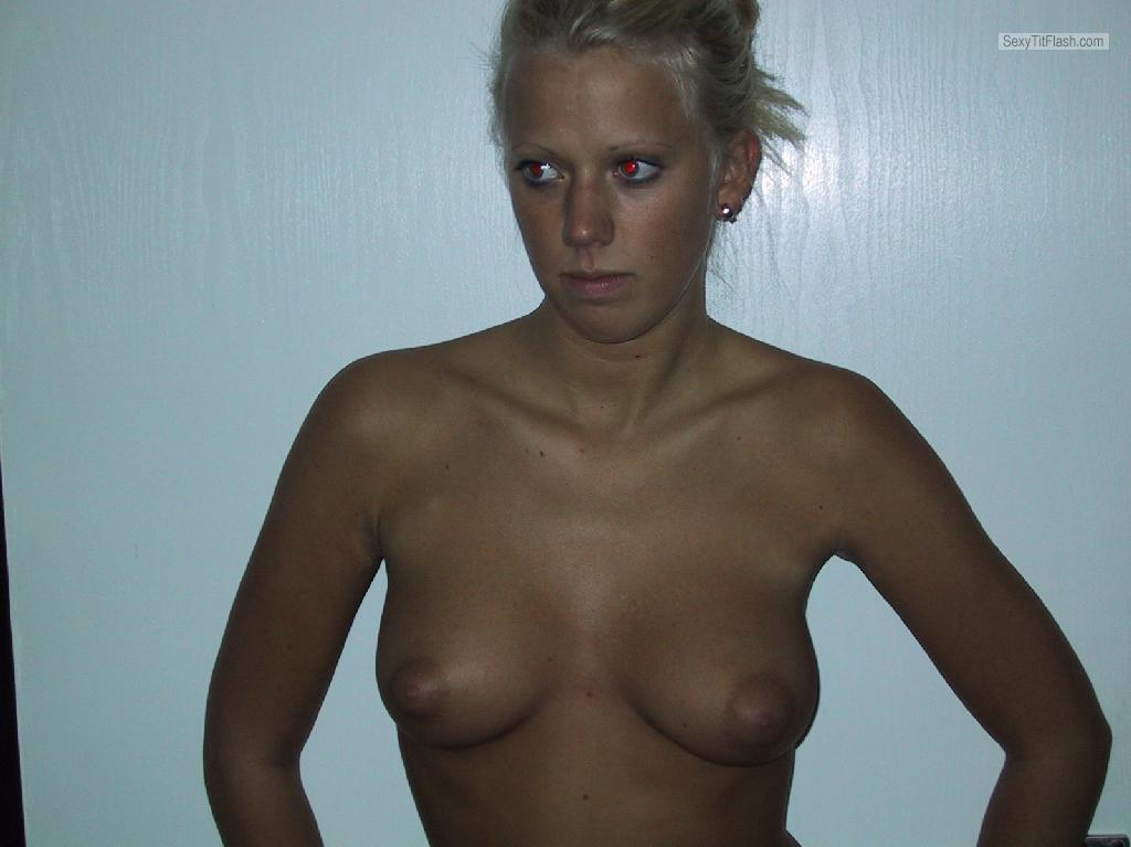 My Small Tits Topless Sandy