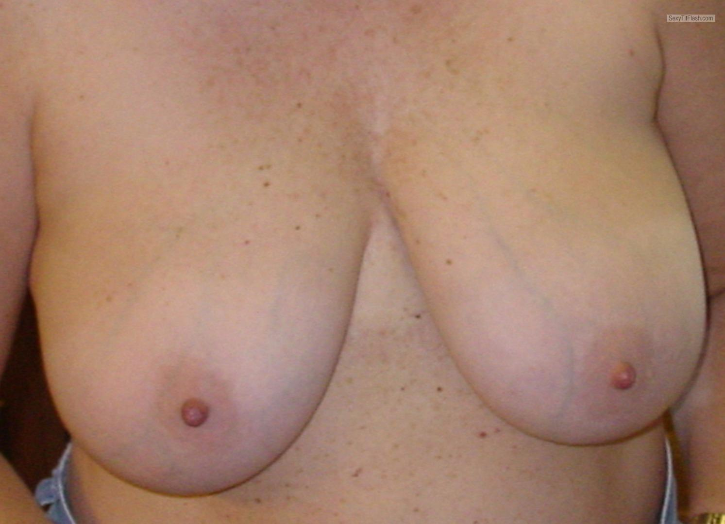My Medium Tits Topless Selfie by Big T
