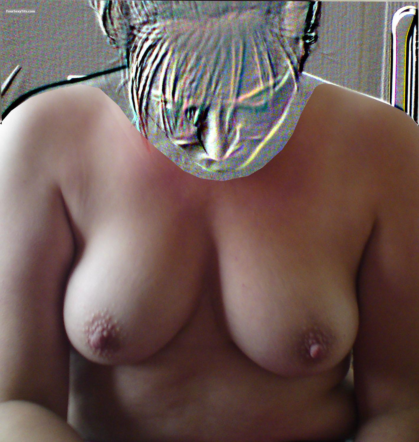 Tit Flash: Medium Tits - Boobalicious from United Kingdom