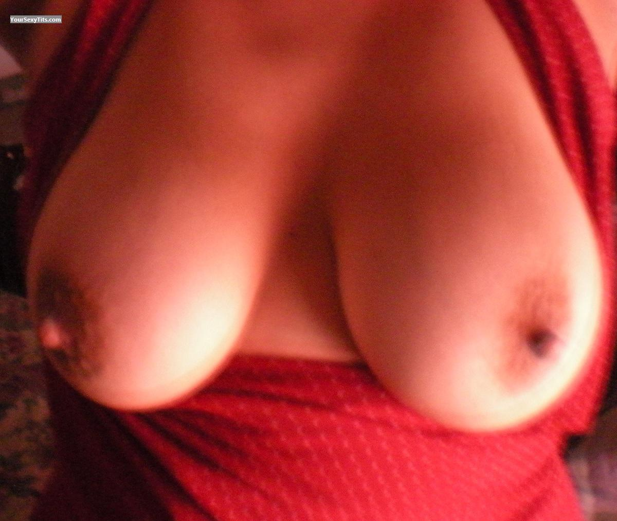 Tit Flash: My Medium Tits (Selfie) - Ash from United States
