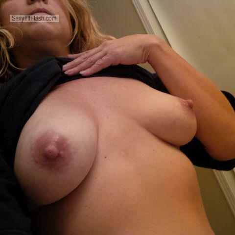 My Medium Tits Selfie by Cum Loving Slut