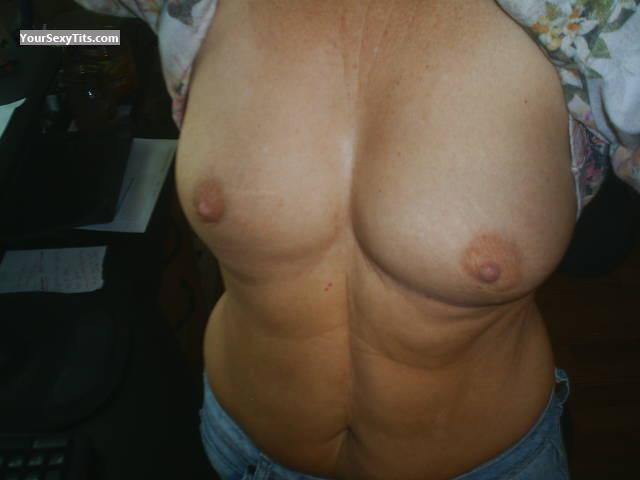 Tit Flash: My Medium Tits (Selfie) - Poisonivey54 from United States