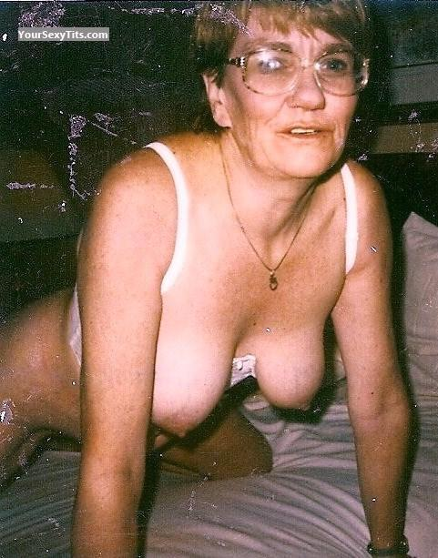 Tit Flash: Medium Tits - Topless Tara from Canada