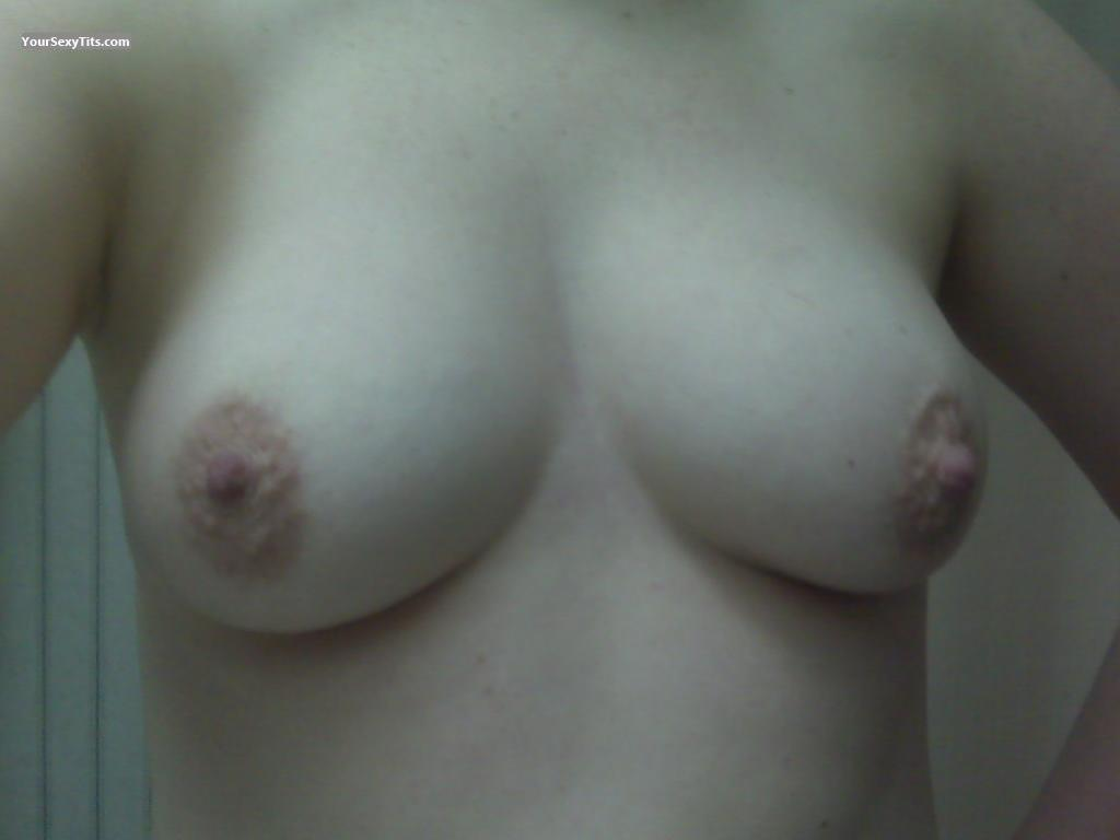 Tit Flash: My Medium Tits (Selfie) - Lilith from United States