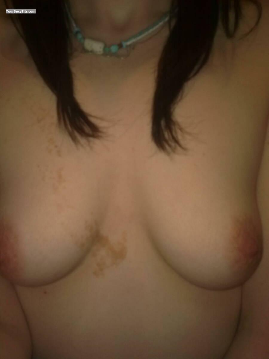 Tit Flash: My Medium Tits (Selfie) - Zippy! from United Kingdom