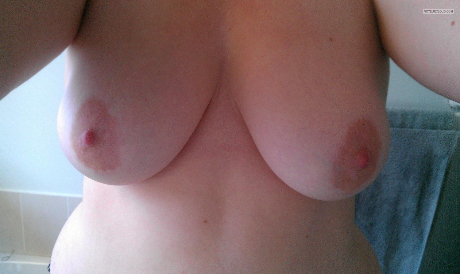 Tit Flash: My Medium Tits (Selfie) - Annaa from Australia