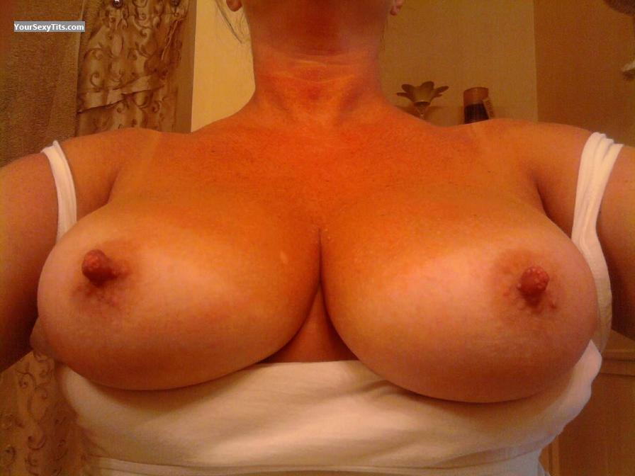 Tit Flash: My Medium Tits (Selfie) - Ms Gr8pair from United States
