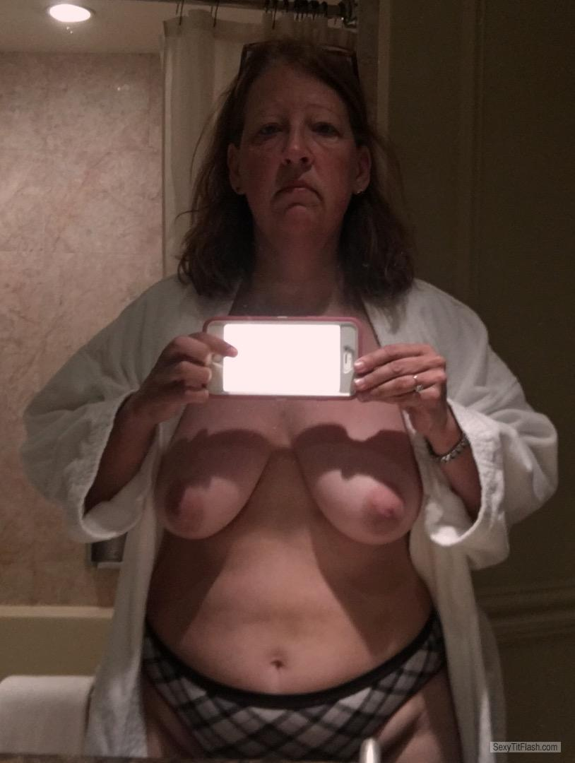 My Medium Tits Topless Selfie by Bunny