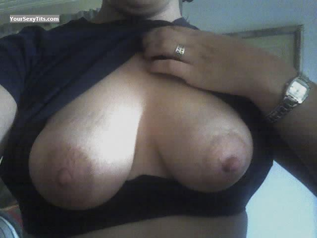 Tit Flash: My Medium Tits (Selfie) - Flower876 from United States