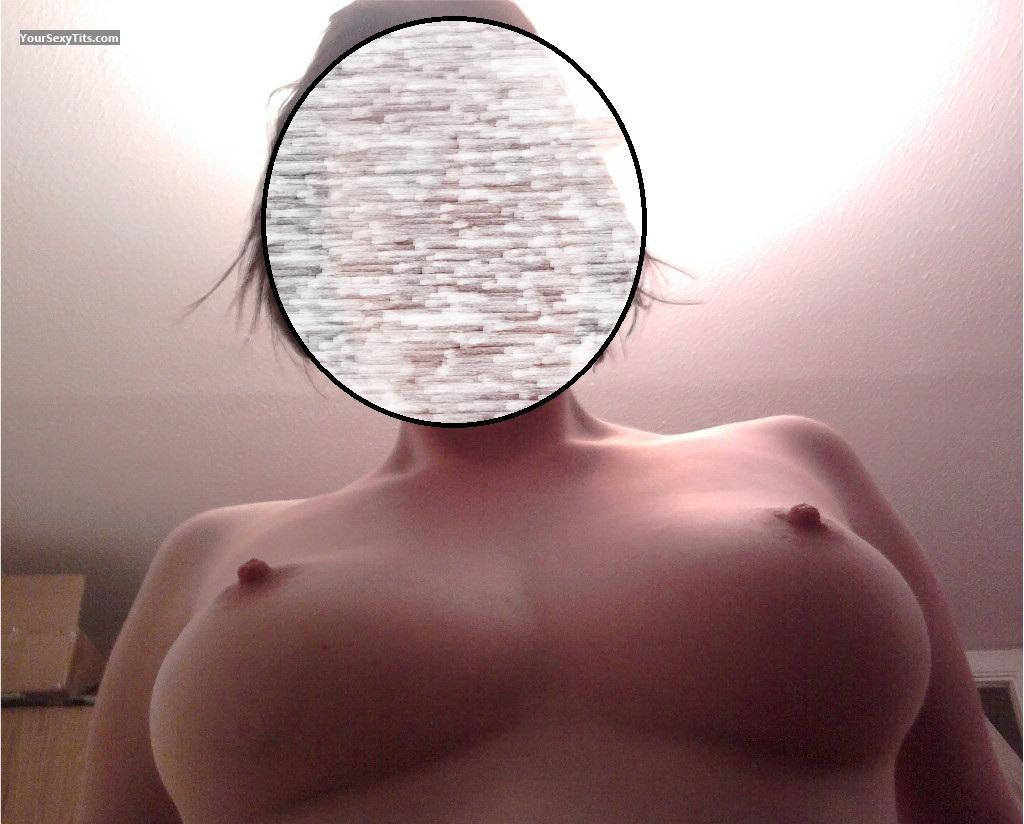Tit Flash: My Medium Tits (Selfie) - Shell from United Kingdom