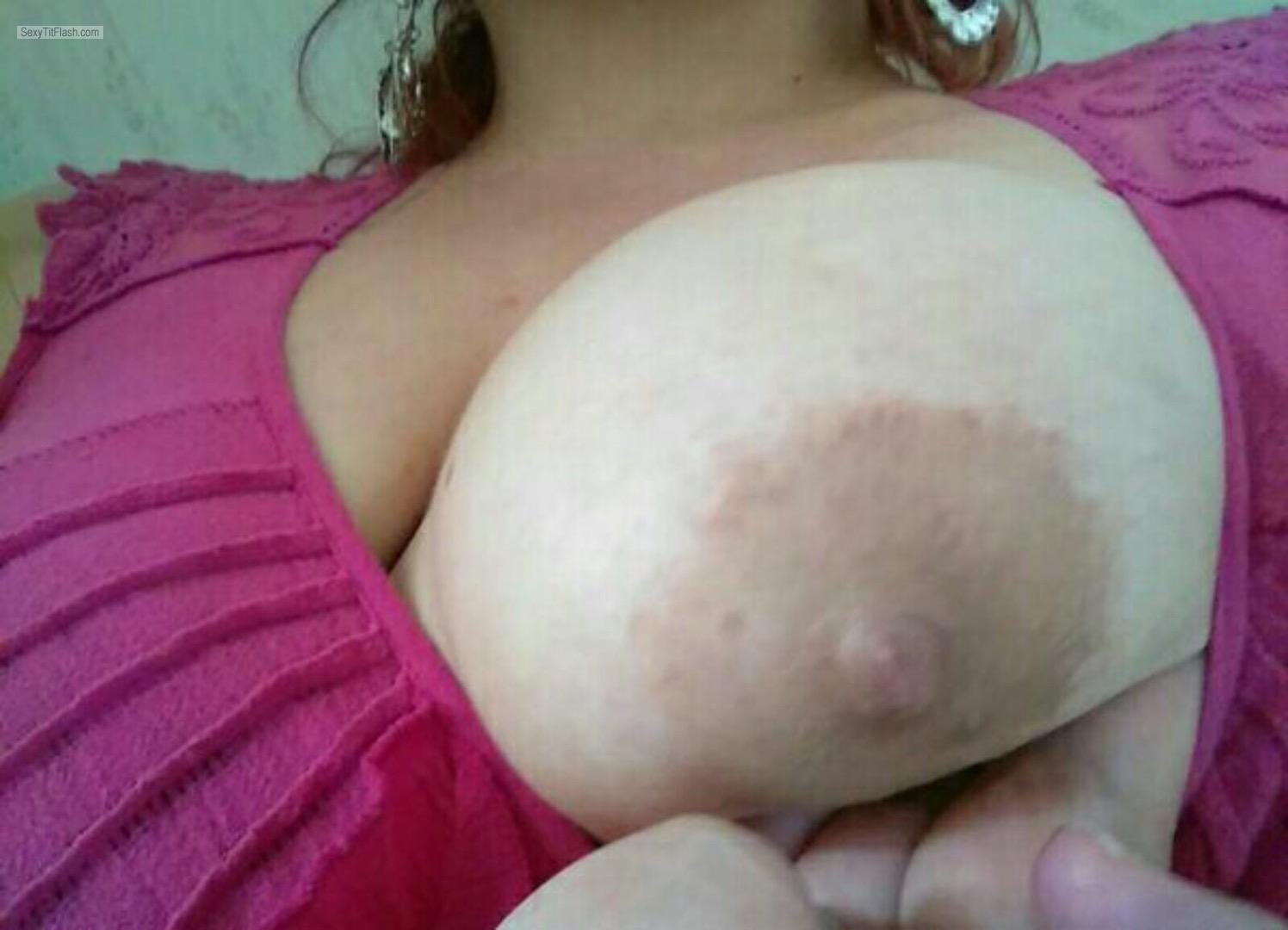 Medium Tits Of A Friend Selfie by Snickers