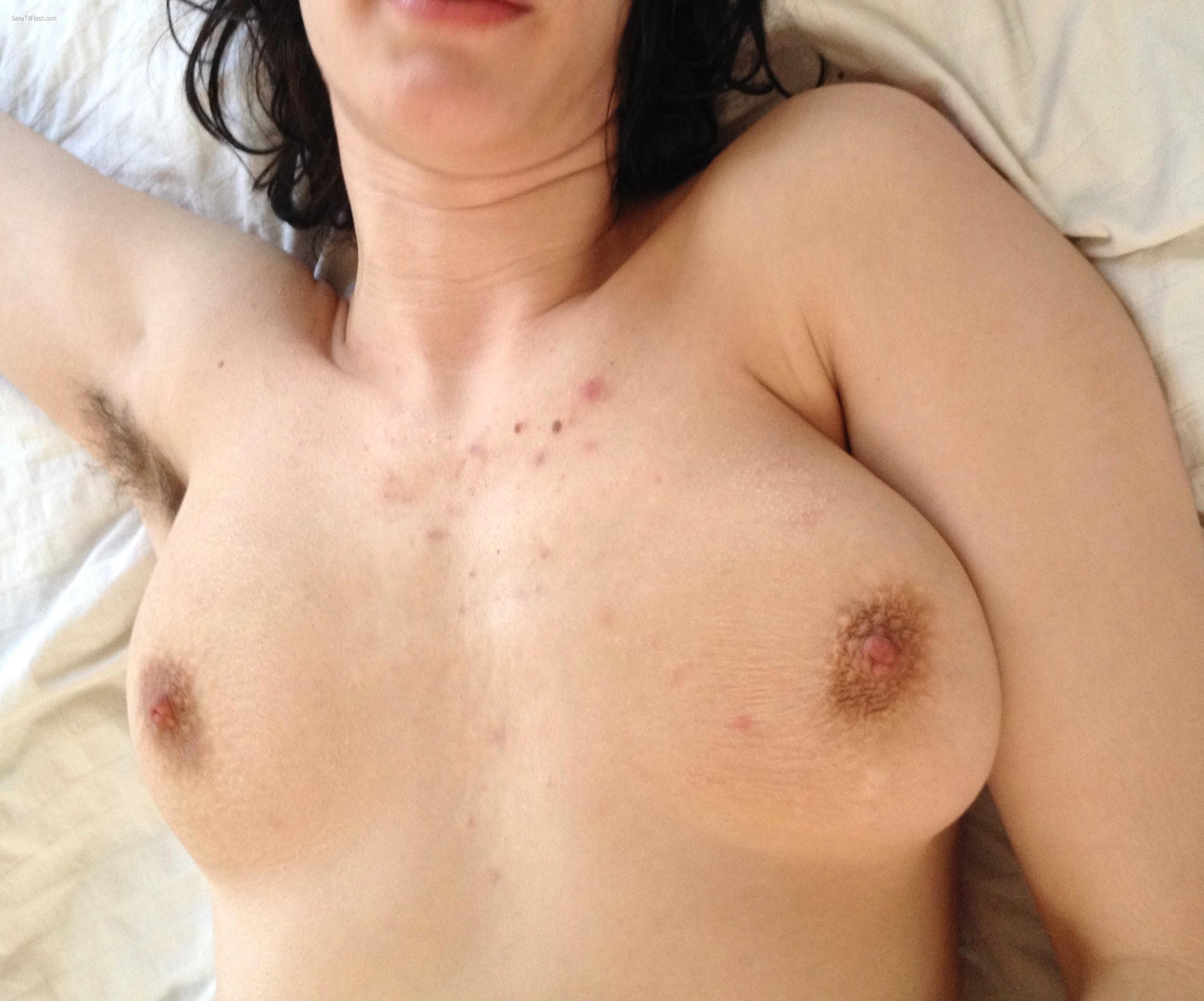 Tit Flash: My Medium Tits - Eve from United States