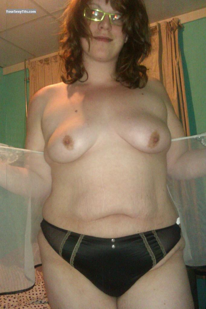 Tit Flash: My Medium Tits (Selfie) - Topless Assie from Netherlands