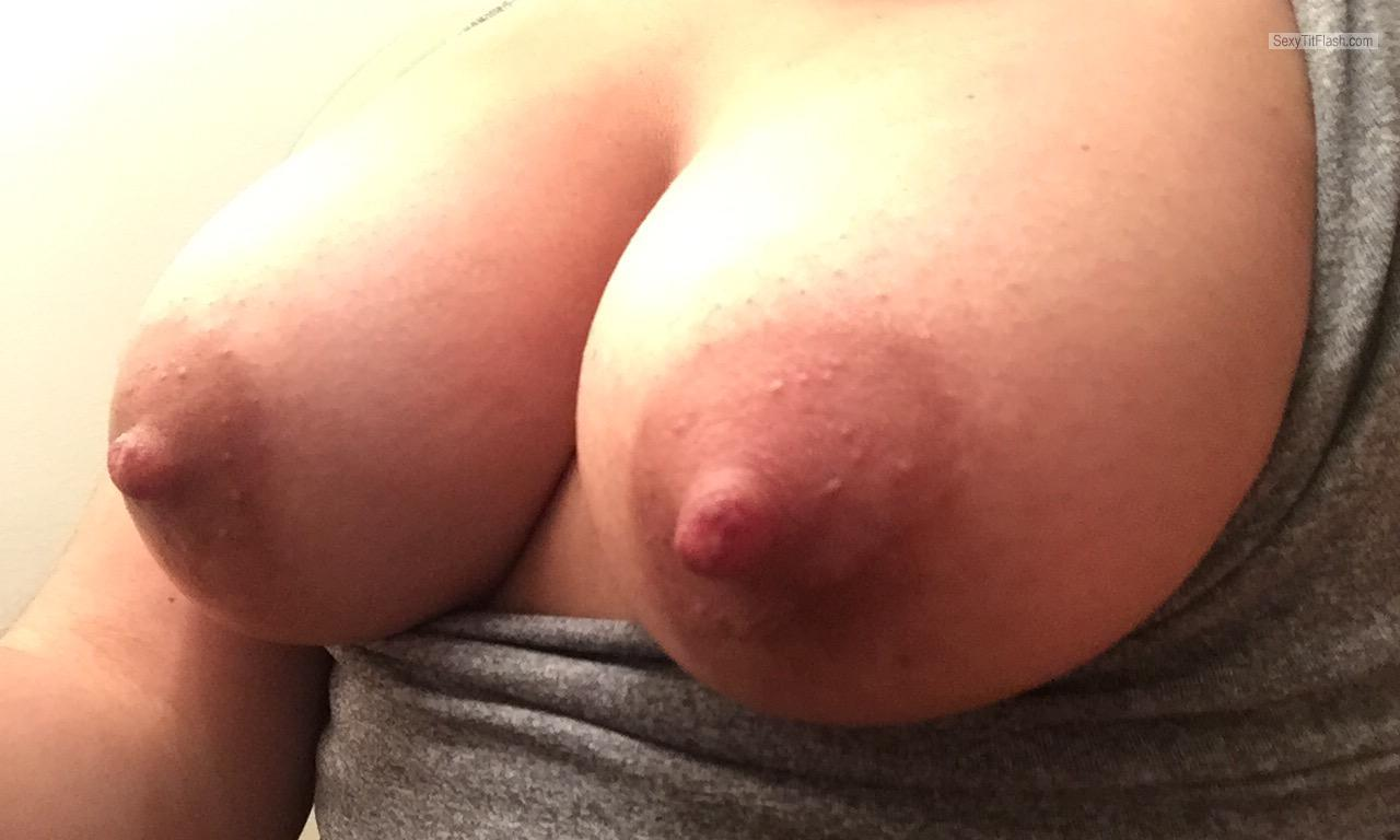 My Medium Tits Selfie by Sexy Nips