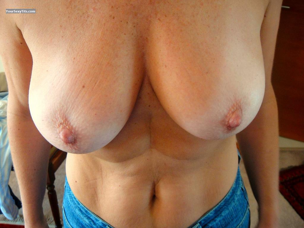 Tit Flash: Medium Tits - Argentinian 50 from Argentina