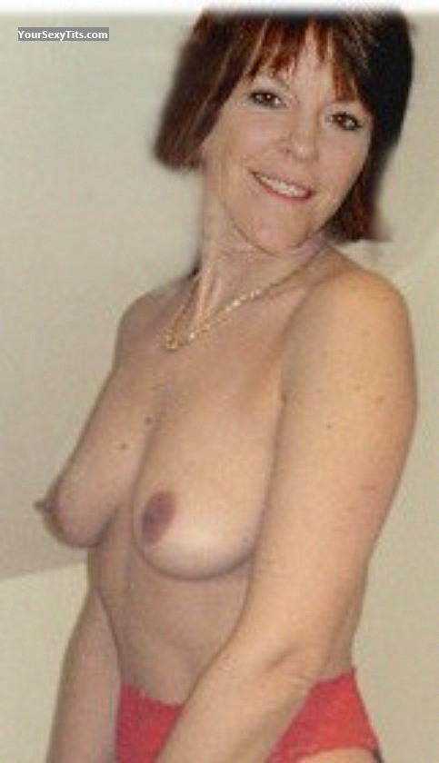 Tit Flash: My Friend's Medium Tits - Lisa from United States