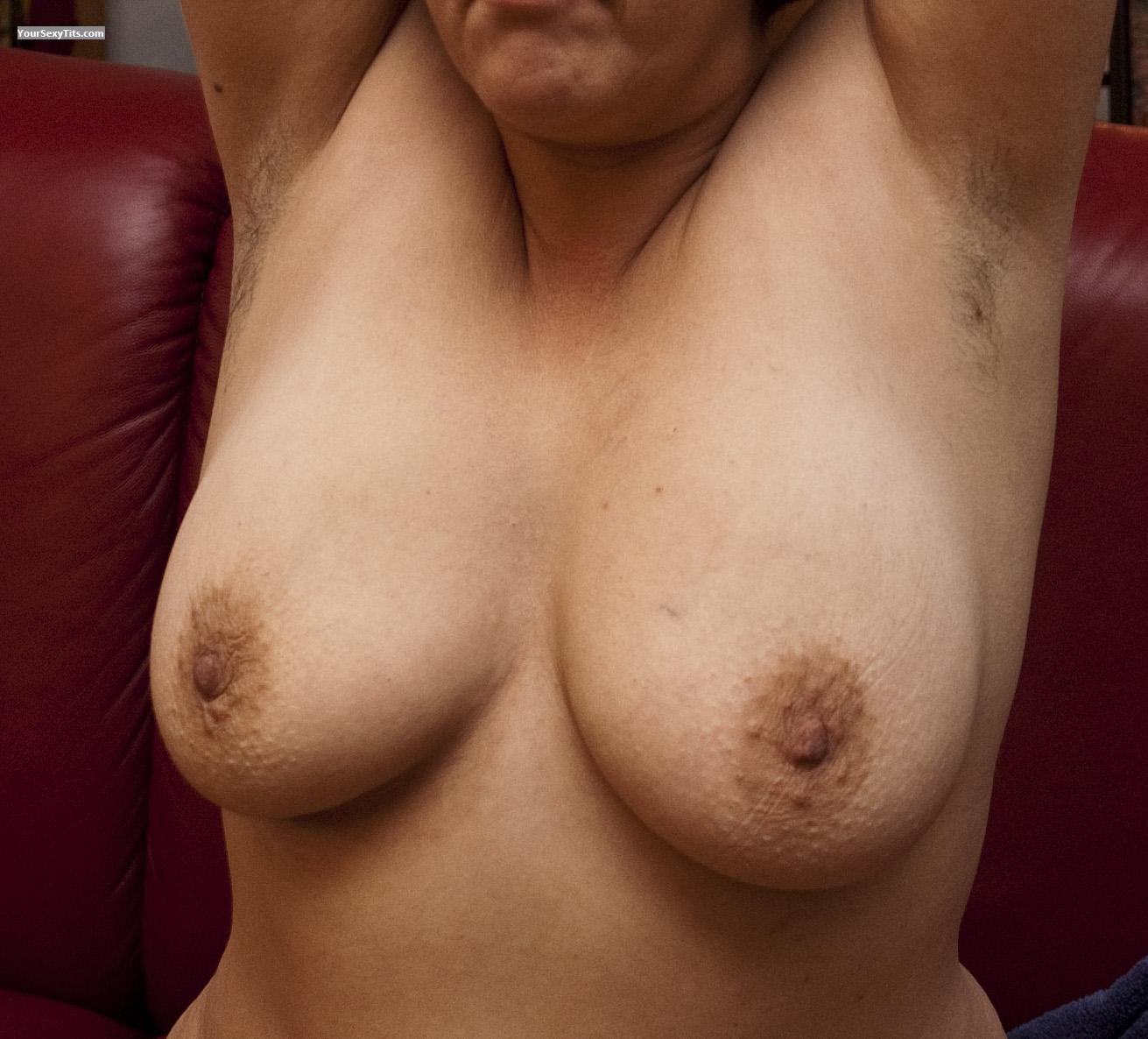 Tit Flash: Medium Tits - Norden from Germany