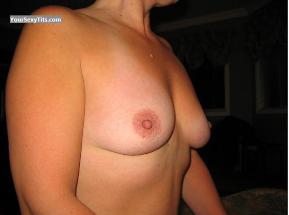 Tit Flash: Medium Tits - PVPirate from Canada