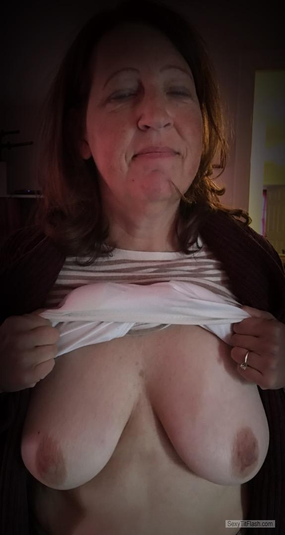 My Medium Tits Topless Me