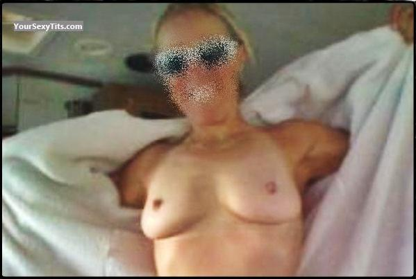 Tit Flash: Medium Tits - Hthe from United Kingdom