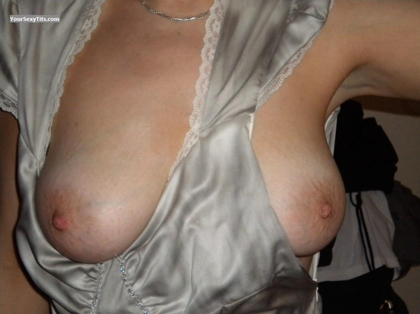 Tit Flash: Medium Tits - Jennifer from United StatesPierced Nipples