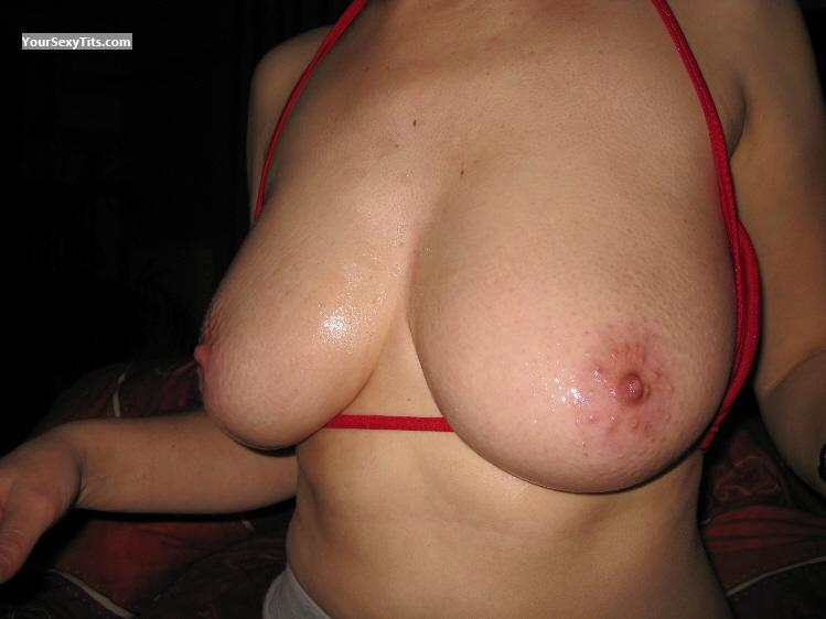 Tit Flash: Medium Tits - Jen from Finland