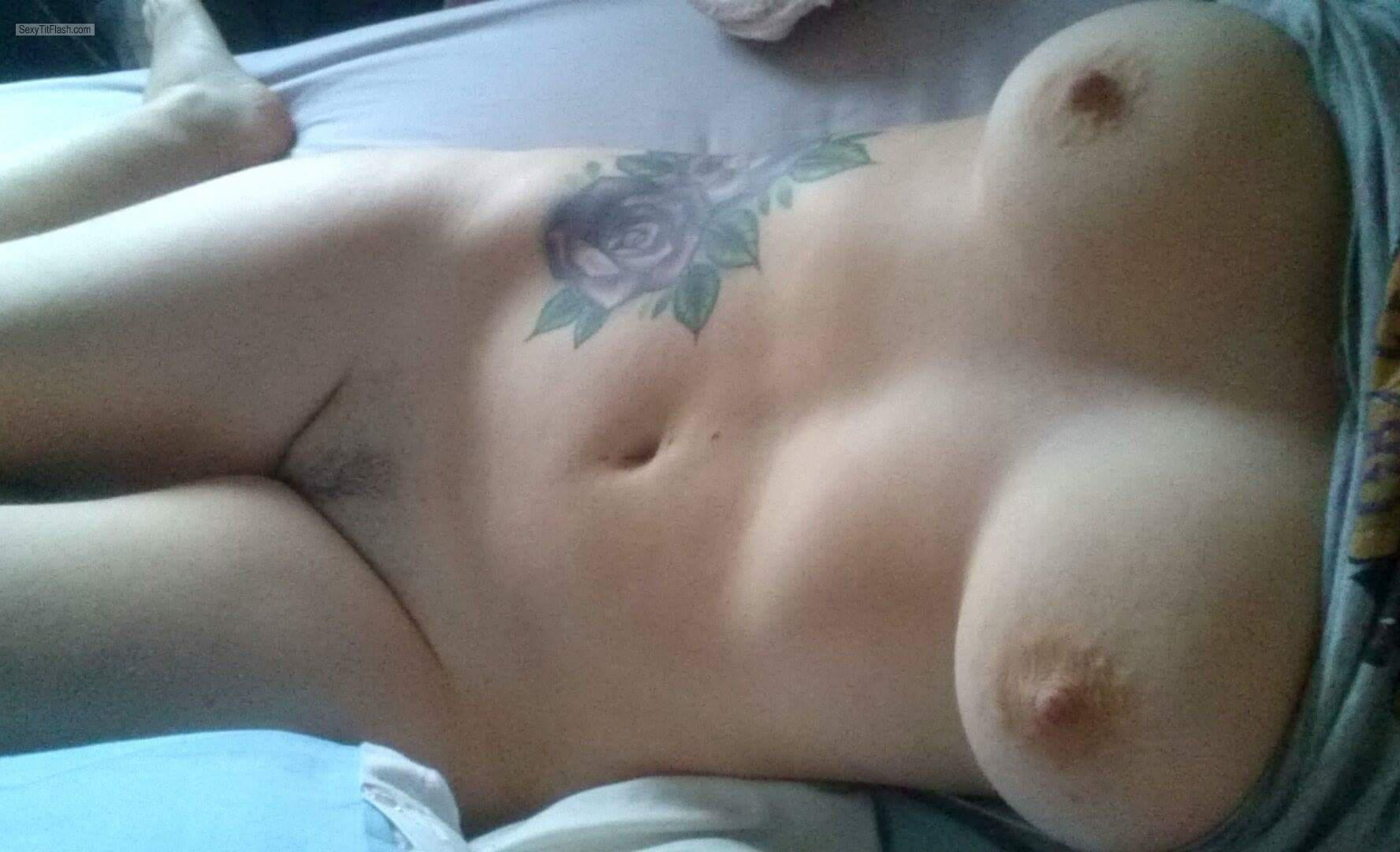 My Medium Tits Selfie by Purple Rose