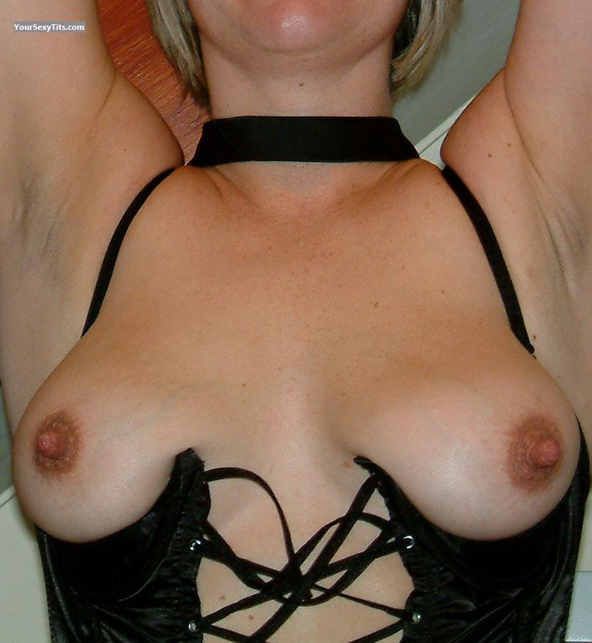 Tit Flash: My Medium Tits - Josie from United Kingdom