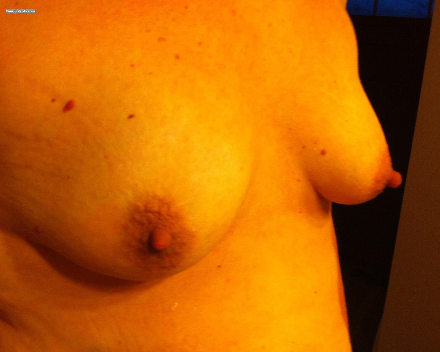 Tit Flash: Small Tits By IPhone - Sarah from United States