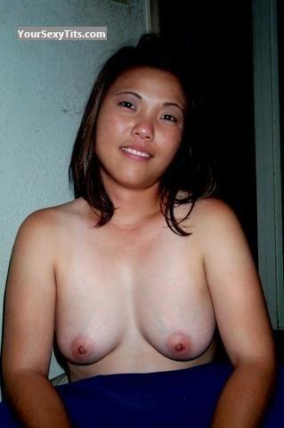 Tit Flash: Small Tits By IPhone - Topless Joyjoy from United States